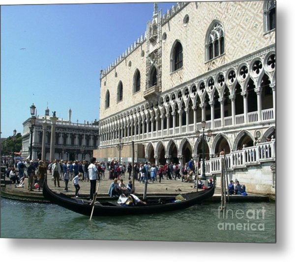 Venice Palazzo Ducale Metal Print