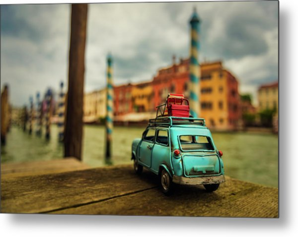 Venice Stopped Metal Print by Luis Francisco Partida