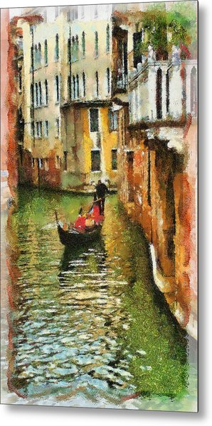 Venice View Metal Print by Cary Shapiro