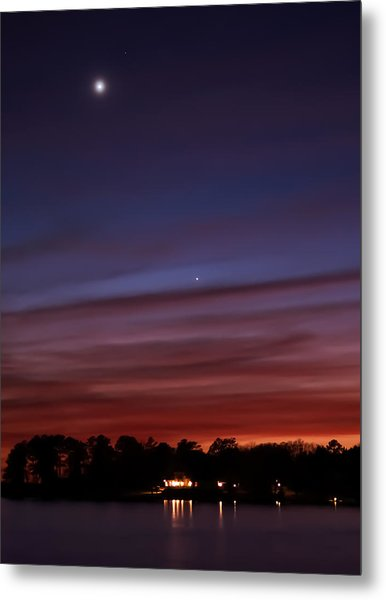 Venus And Mercury Metal Print