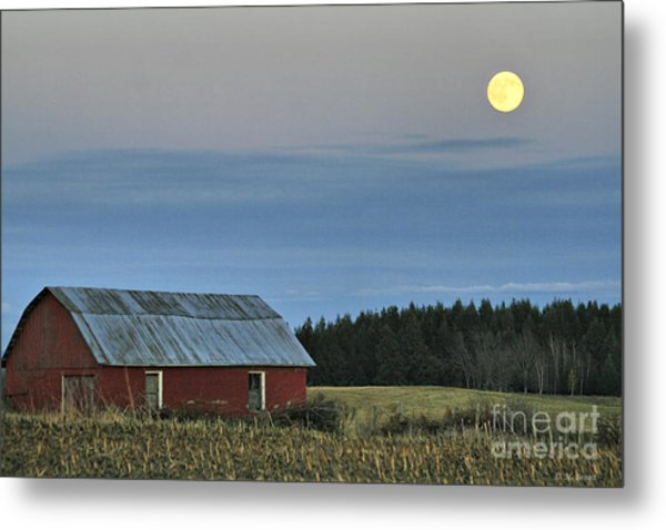 Vermont Full Moon Metal Print