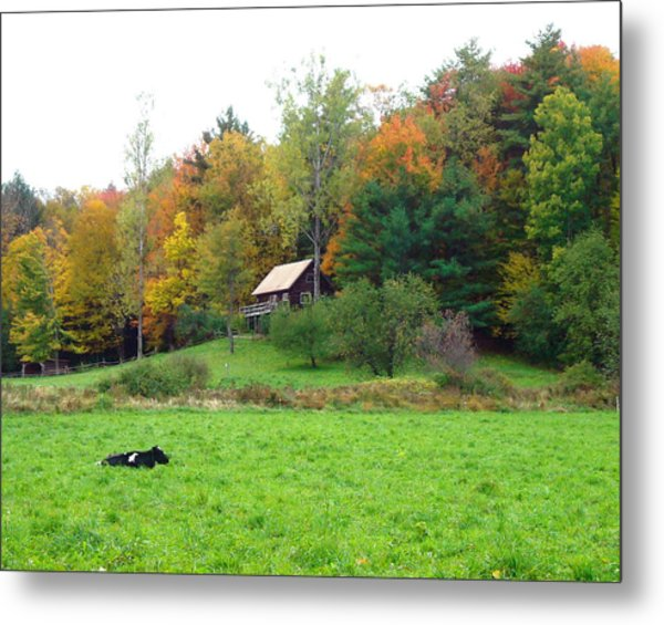 Vermont Ideal Metal Print