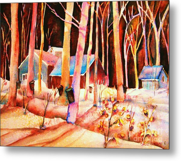 Vermont Maple Syrup Metal Print