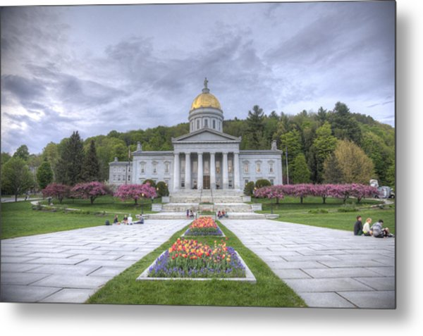 Vermont State House Metal Print