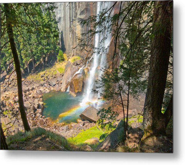 Vernal Rainbow Metal Print