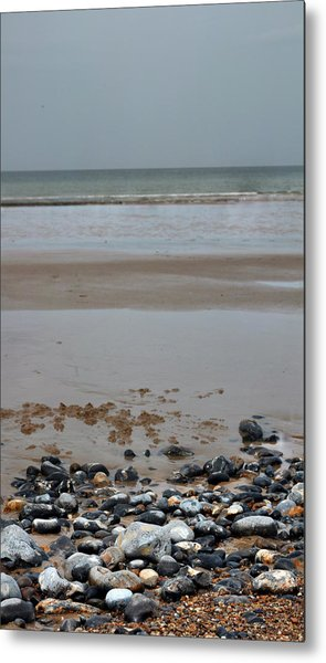 Vertical Beach II Metal Print