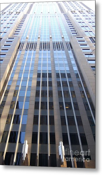Vertical Chicago By Jammer Metal Print