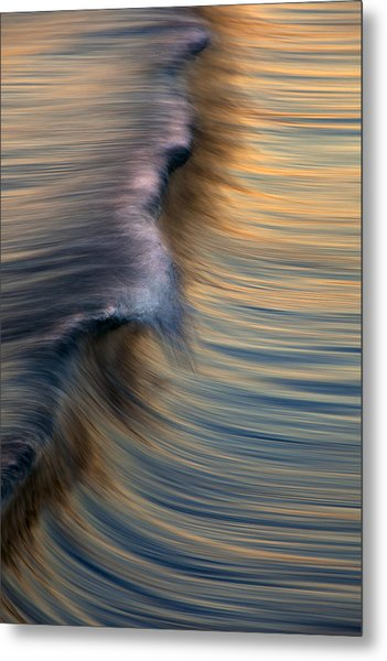Vertical Wave  Mg0420 Metal Print