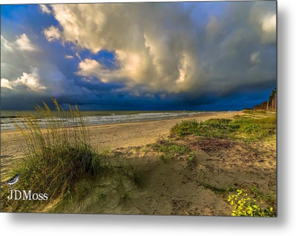 Very Cloudy Metal Print by Janet Moss
