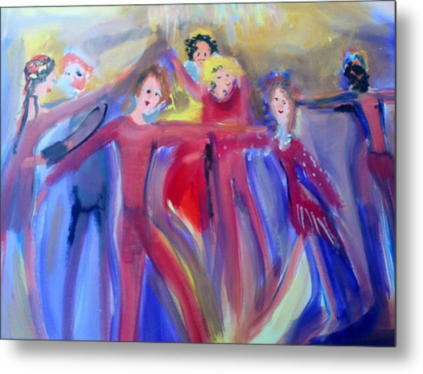 Very Hot Dance Team Metal Print
