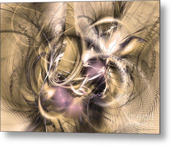Vestigium Aeternum - Abstract Art  Metal Print
