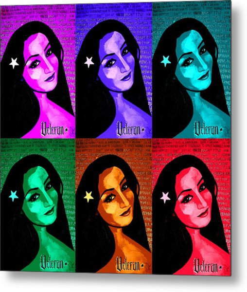 Veterana Colors Metal Print