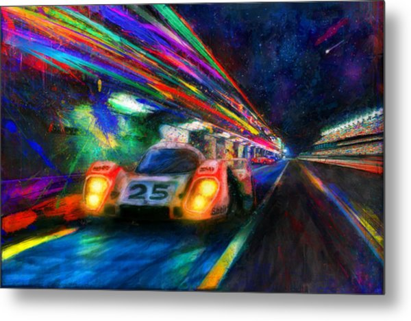 Vic's Night Out Metal Print