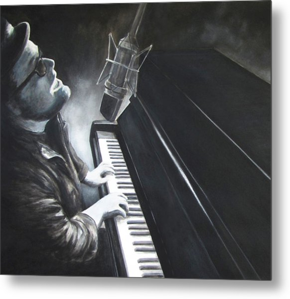 Victor Wainwright And The Wildroots Lit Up Metal Print by Patricia Ann Dees