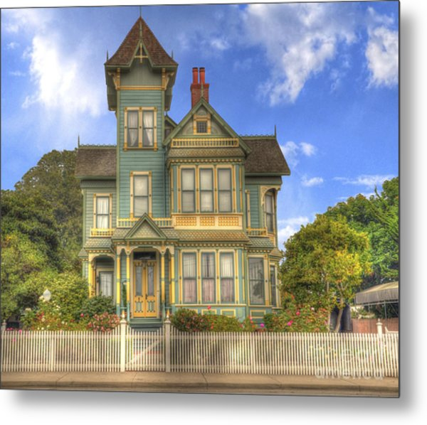 Victorian House Metal Print