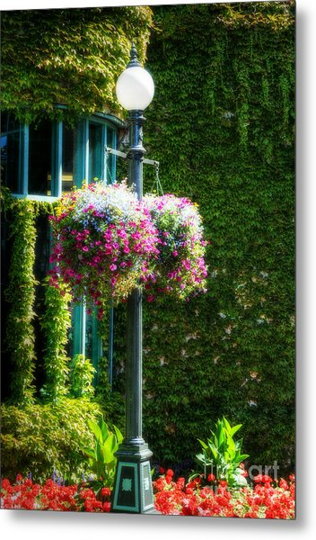 Victorian Light Post Metal Print