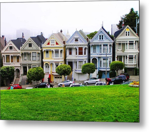San Francisco Architecture Metal Print