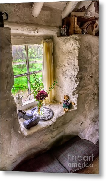 Victorian Window Metal Print