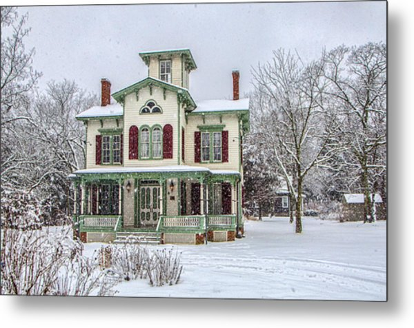 Victorian Winter Metal Print