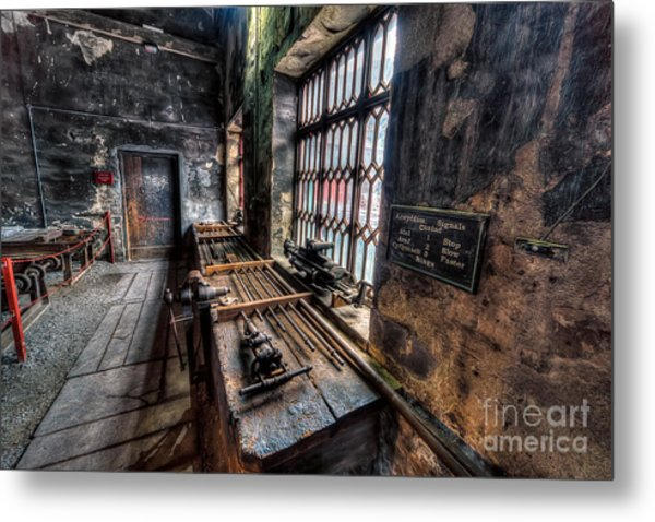 Metal Print featuring the photograph Victorian Workshops by Adrian Evans