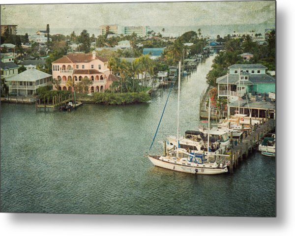 Metal Print featuring the photograph View At Fort Myers Beach - Florida by Kim Hojnacki