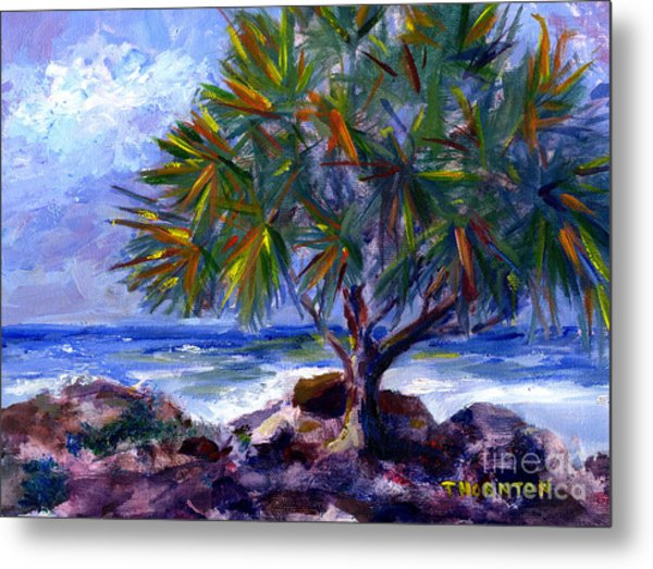 View At Maku'u Metal Print