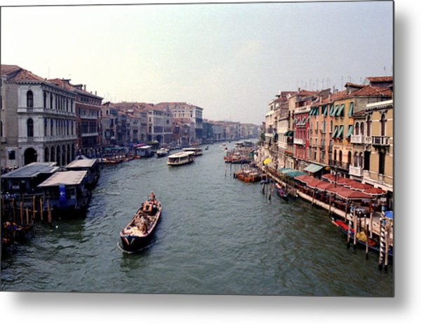 View From A Bridge Metal Print