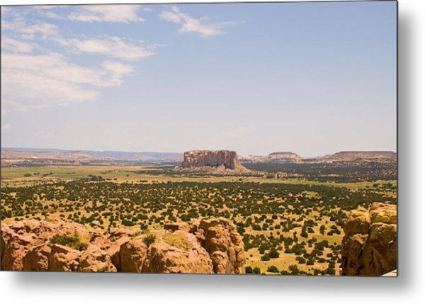 View From Acoma Mesa Metal Print