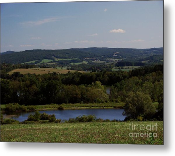 View From Amenia Metal Print