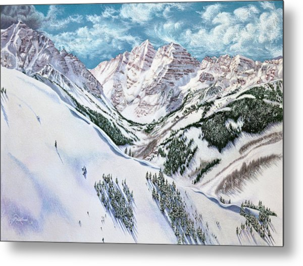 View From Aspen Highlands Metal Print