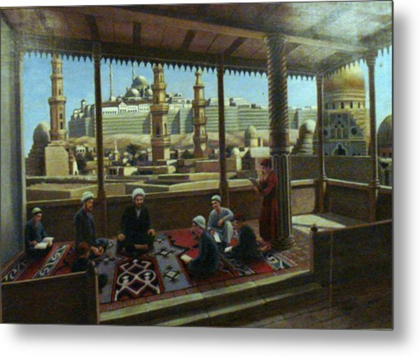 View From Egypt Metal Print
