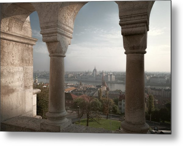 View From Fishermans Bastion Metal Print