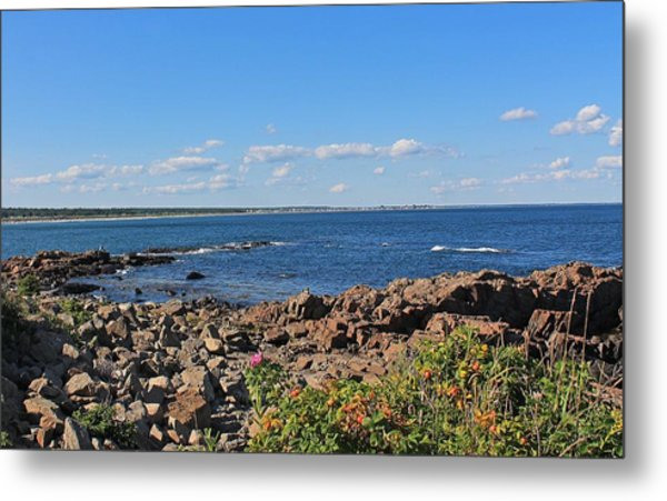 View From Marginal Way Ogunquit Maine 3 Metal Print