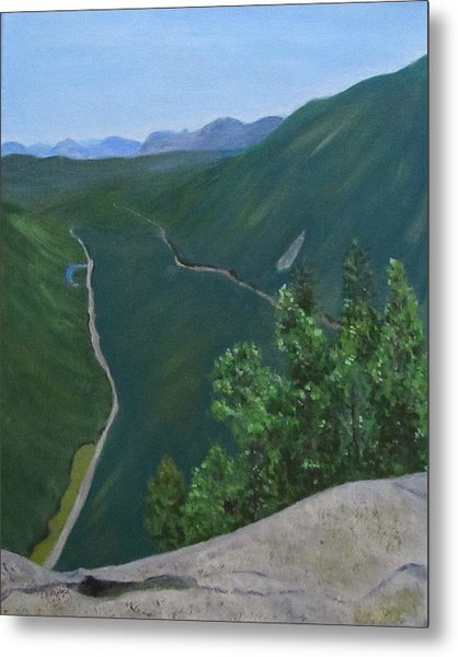 View From Mount Willard Metal Print
