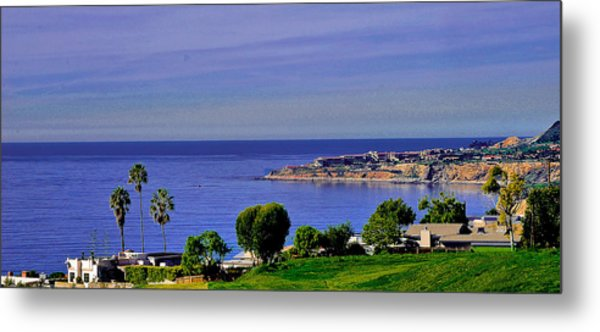 View From Pv Metal Print