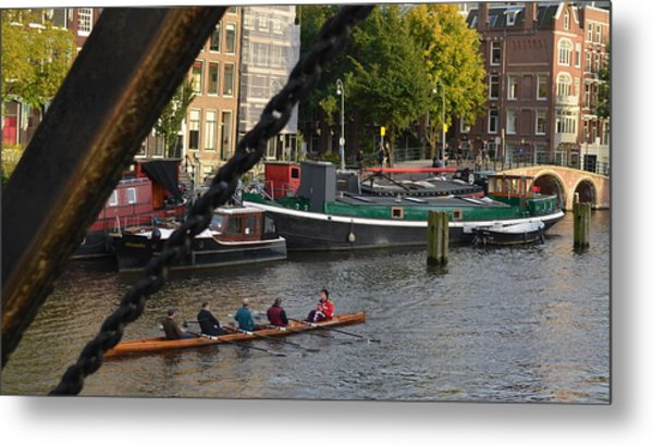 'skinny Bridge' Amsterdam Metal Print