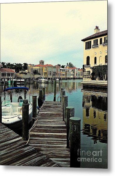 View From The Boardwalk 2 Metal Print