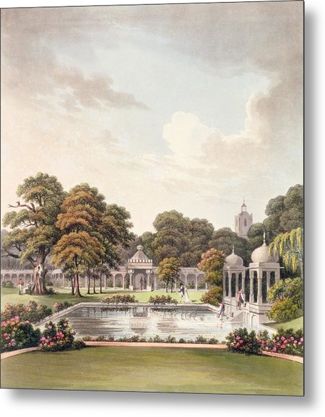 View From The Dome, Brighton Pavilion Metal Print