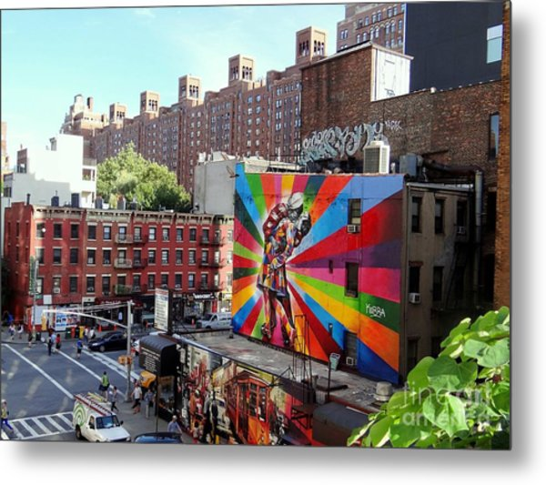 View From The Highline Metal Print