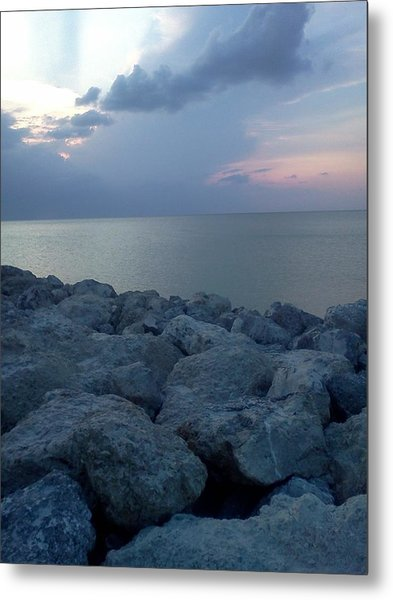 View From The Jetty Metal Print