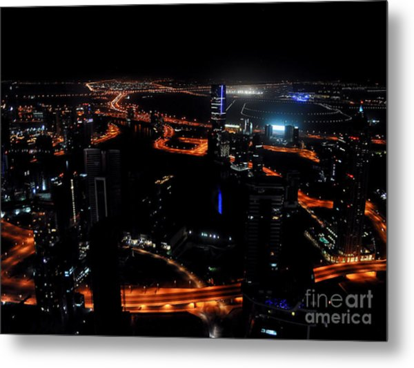 View From The Jw Marriott Marquis Dubai Hotel Metal Print by Graham Taylor