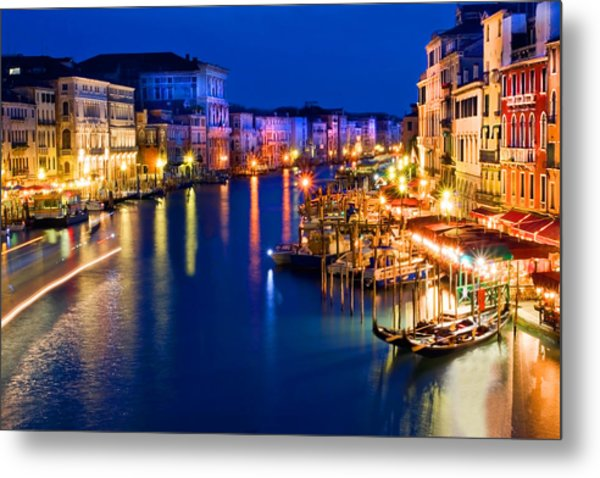 View From The Rialto Bridge Metal Print