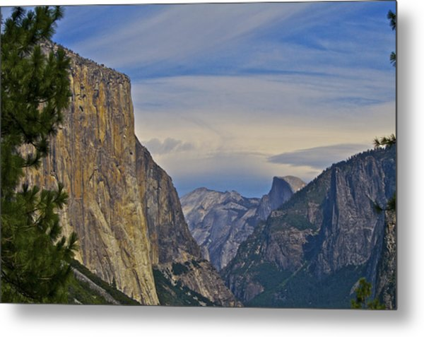View From Wawona Tunnel Metal Print