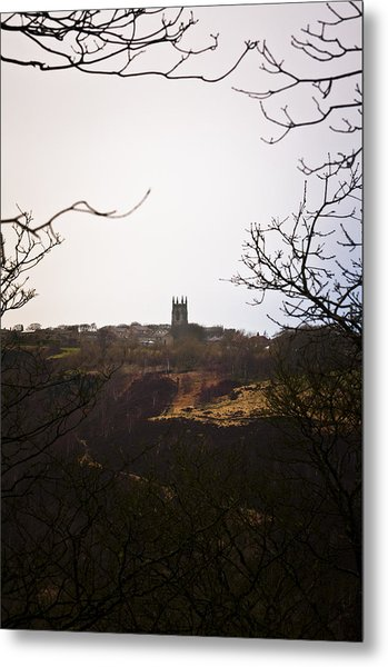 View Of Heptonstall Church Metal Print