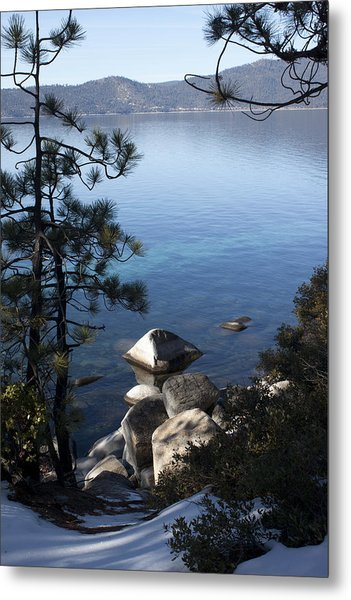 View Of Lake Tahoe Metal Print