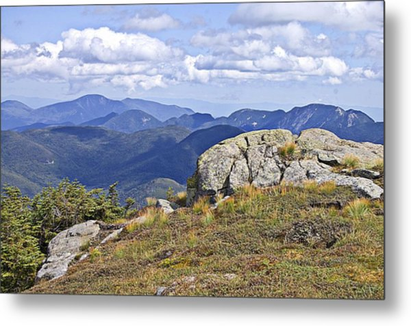 View Of The Great Range From Algonquin Metal Print