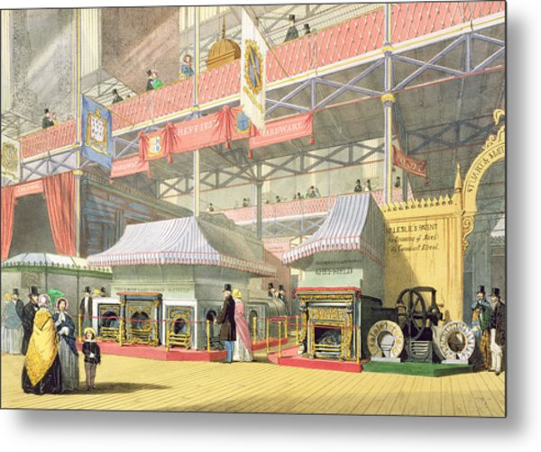 View Of The Sheffield Hardware Stand Metal Print