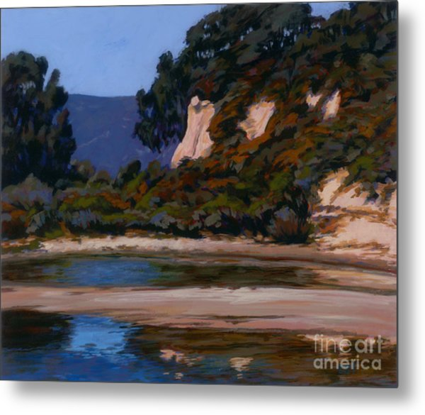 View Of The Slough Metal Print