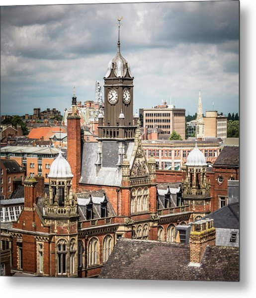 View Of York Magistrates Court Metal Print