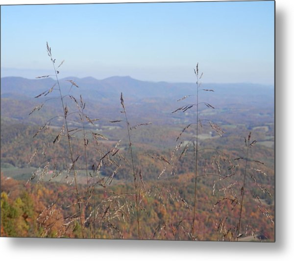 View Past Lover's Leap Metal Print